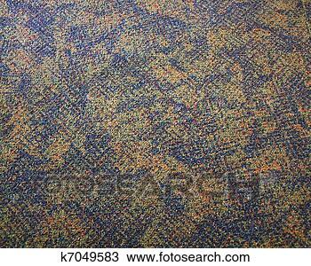 手绘图 - 地毯, 背景