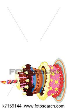 绘画/画画 - 生日蛋糕