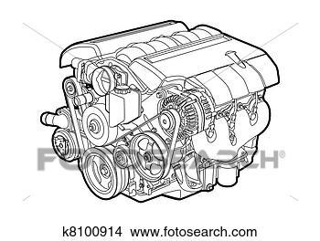 手绘图 - 矢量, 引擎