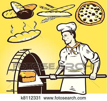 烤炉, 面包师