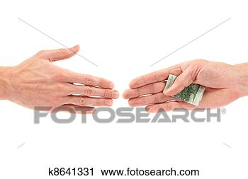 Stock Photography - corruption concept: hand giving bribe to other. fotosearch - search stock photos, pictures, wall murals, images, and photo clipart