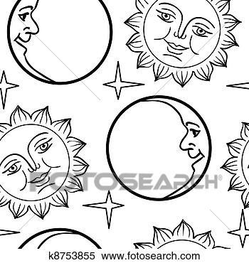 半月亮简笔画