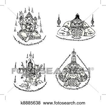 tatuajes tailandés grande