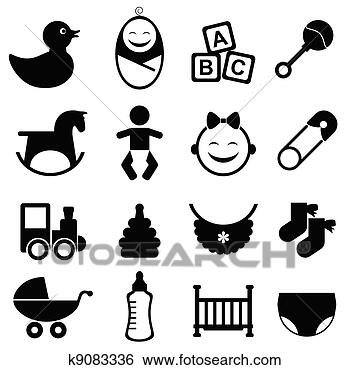 Baby Symbols Clip Art Baby Girl Baby Clip Art Images Clipartcow
