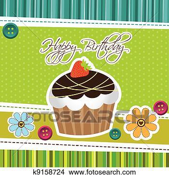 翻糖蛋糕手绘图_生日蛋糕手绘图