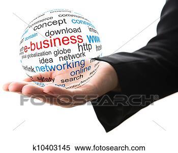 Banco de Imagem - conceito, internet,  negócio. fotosearch  - busca de fotos,  imagens e clipart