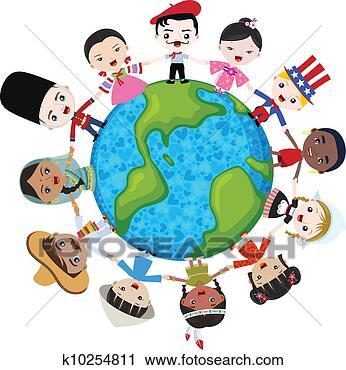 关于地球的儿童图画