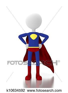 结局-3d,人,超级,漫画,空白,爆笑,服装,英雄热带雨林v结局空间符号的漫画图片