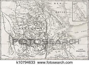 区域, 地图