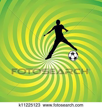 手绘图 - 足球, 足球