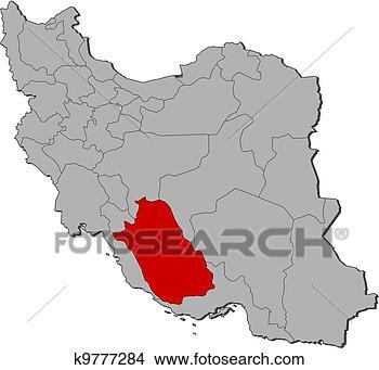 伊朗 地图