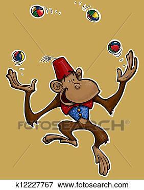 这个可爱卡通猴子叫什么名字(