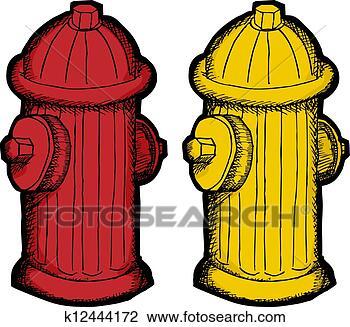 消防栓, 卡通