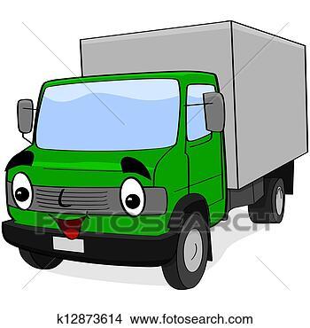- 卡通, 卡车