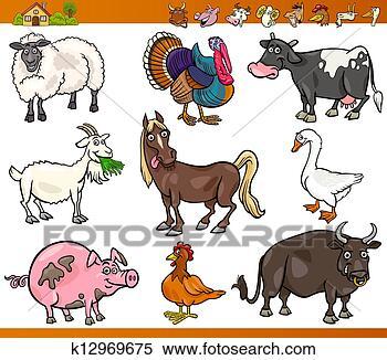 - 农场动物,