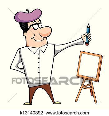 卡通漫画, 艺术家