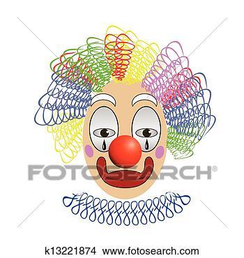 手绘图 - 小丑
