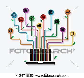 图解或插画 - 电子商务图片