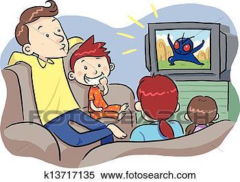 - 看电视, 带