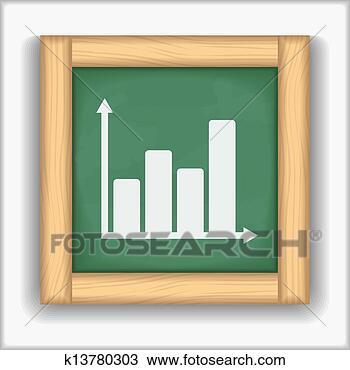 手绘图 - 黑板, 图标,