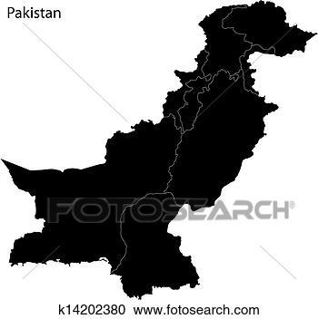 黑色, 巴基斯坦