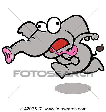 跑的很快卡通图片