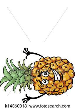 - 有趣, 菠萝