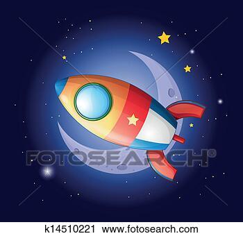 火箭, 去, 月亮