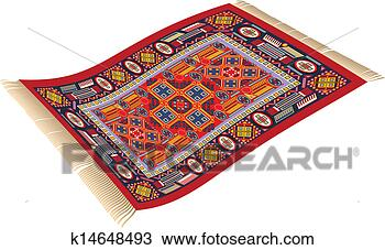 Clipart Of Magic Carpet K14648493 Search Clip Art