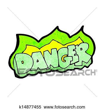 绿色, 危险标志