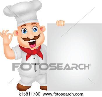 - 厨师, 卡通