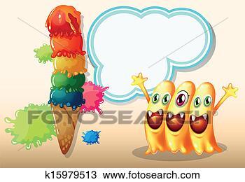 巨人, 冰淇淋