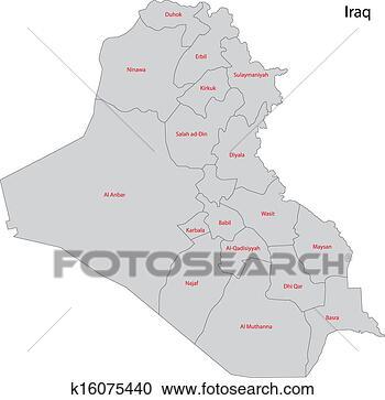 灰色, 伊拉克
