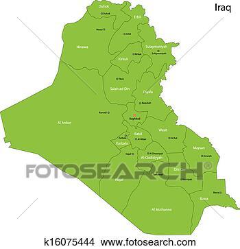 绿色, 伊拉克