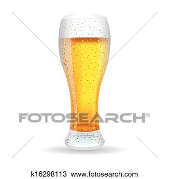 手绘图 - 啤酒