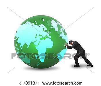 全世界, 地图, 上
