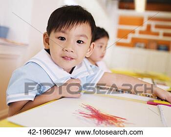 学龄前儿童, 图画