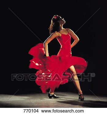 Banco de Imagem - hispânico,  femininas,dançar,  flamenco.fotosearch - buscade fotos, imagense clipart