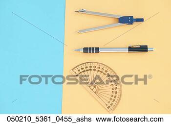 图, 指南针, 机械, 铅笔, 量角器. 搜索创意英文字母绘图,图高清图片
