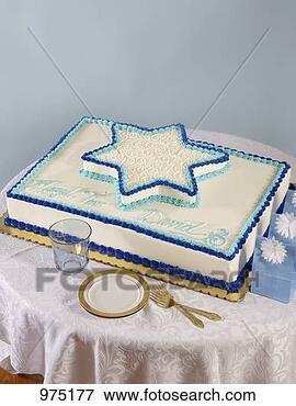 Foto - barzinhos, mitzvah,  bolo. fotosearch  - busca de fotos,  imagens e clipart