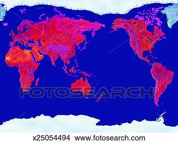 制图, 地理, 地图
