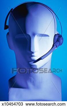 图吧 - 电话, 耳机, 人体模型 x10454703 - 搜索图