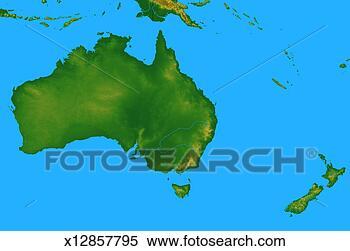 地图, 澳大利亚