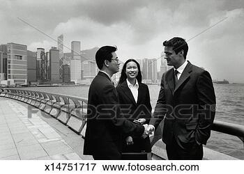 多少数民族成员, 商业, 人们, 城市, 地平线 x14751717 搜索影像