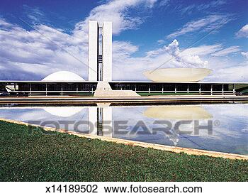 Stock Photo - congresso nacional,  brasilia, brazil.  fotosearch - search  stock photos,  pictures, images,  and photo clipart