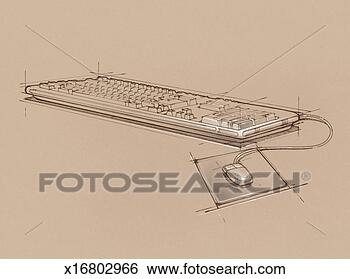 computer keyboard and mouse x16802966 foto search stock photo ...