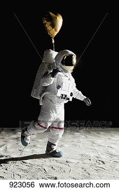 Astronaut Chilling On the Moon - Pics about space
