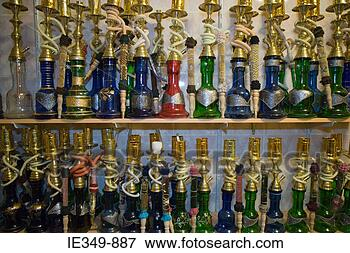 Picture - hookahs at grand  bazaar. fotosearch  - search stock  photos, pictures,  images, and photo  clipart