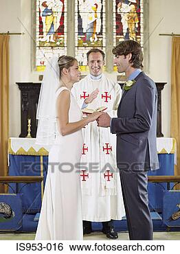 Stock Photo - bride and groom