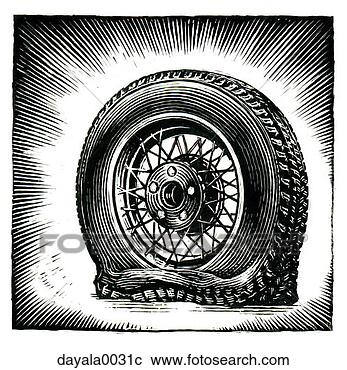 车轮卡通ppt图